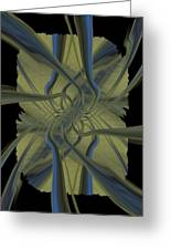Tendrils Greeting Card by Tim Allen