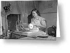 Tennessee: Farm Wife, 1942 Greeting Card by Granger