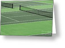 Tennis court Greeting Card by Blink Images