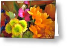 That Fall Feeling Greeting Card by Gwyn Newcombe