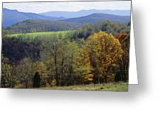 The Allegheny Front, North Fork Greeting Card by Raymond Gehman