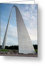 The Arch In St Louis Greeting Card by Semmick Photo