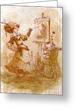 The Artist Greeting Card by Brian Kesinger