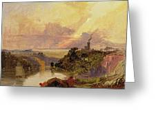The Avon Gorge at Sunset  Greeting Card by Francis Danby