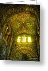 The Basilica Di San Vitale In Ravenna Greeting Card by Gregory Dyer