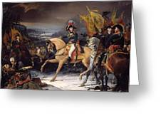 The Battle Of Hohenlinden Greeting Card by Henri Frederic Schopin