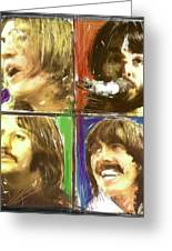The Beatles - Let It Be Greeting Card by Russell Pierce