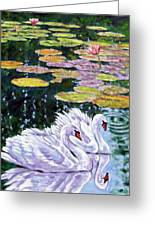 The Beauty Of Peace Greeting Card by John Lautermilch