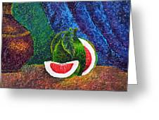 The Beauty Within Series--juicy Grapefruit Greeting Card by Luxo N P