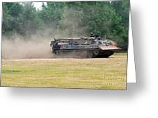 The Bergepanzer Used By The Belgian Army Greeting Card by Luc De Jaeger