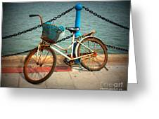 The Bicycle Greeting Card by Carol Groenen