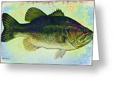 The Big Fish Greeting Card by Bill Cannon