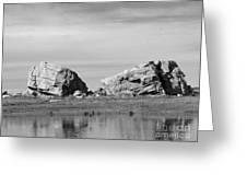 The Big Rock   Okotoks Erratic Greeting Card by Al Bourassa