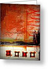 The Bridge V By Laura Gomez Greeting Card by Laura  Gomez