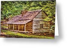 The Bud Ogle Homestead Greeting Card by Barry Jones