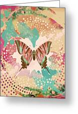 The Butterfly Experiment Greeting Card by Christine Louise Bryant