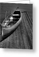 The Canoe Greeting Card by David Patterson