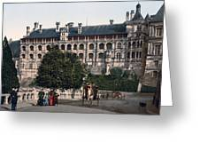 The Castle In Blois - France Greeting Card by International  Images