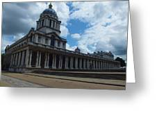 The Chapel At The Royal Naval College Greeting Card by Anna Villarreal Garbis