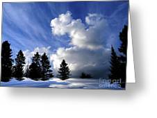 The Cloud  Greeting Card by Elfriede Fulda