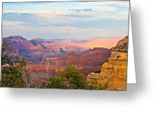 The Colors Of The Canyon Greeting Card by Heidi Smith