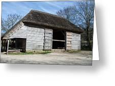 The Cowfold Barn Greeting Card by Dawn OConnor