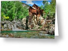 The Crystal Mill 1 Greeting Card by Ken Smith