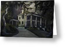 The Dark Plantation Greeting Card by James Christopher Hill
