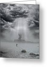 The Drifter II Greeting Card by Keith Kapple
