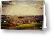 The Driftless Zone Greeting Card by Mary Machare