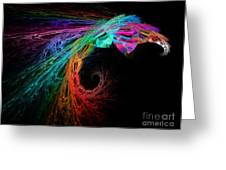 The Eagle Rainbow Greeting Card by Andee Design