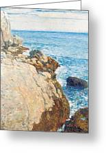 The East Headland Greeting Card by Childe Hassam