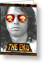 The End Greeting Card by Jason Kasper
