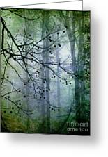 The Forest Cathedral Greeting Card by Judi Bagwell