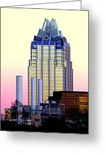 The Frost Tower  Greeting Card by Lisa  Spencer