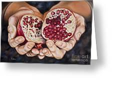 The Fruit Of Jesus' Sacrifice II Greeting Card by Ilse Kleyn