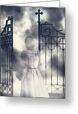 The Gate Greeting Card by Joana Kruse