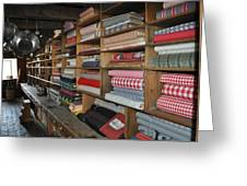 The General Store Greeting Card by Daryl Macintyre