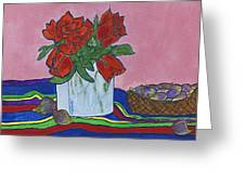 The Good Figs Greeting Card by Maureen Ritzel