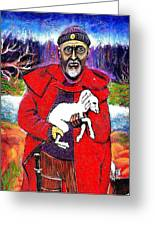 The Good Shepherd Greeting Card by Ion vincent DAnu