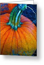 The Great Pumpkin Greeting Card by Glenna McRae
