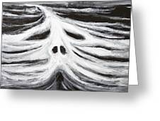 The Head Of Leviathan Greeting Card by Kazuya Akimoto