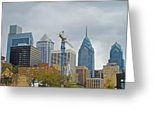 The Heart Of The City - Philadelphia Pennsylvania Greeting Card by Mother Nature