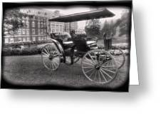 The Homestead Carriage I Greeting Card by Steven Ainsworth