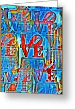 The Illusion Of Love Greeting Card by Bill Cannon