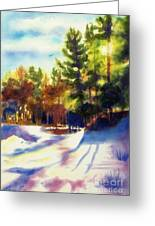 The Last Traces II Greeting Card by Kathy Braud