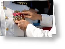 The Legion Of Merit Medal Greeting Card by Stocktrek Images