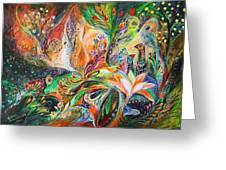 The Light and Wind Greeting Card by Elena Kotliarker