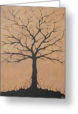 the Lindsey Tree Greeting Card by Julia Raddatz