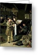 The Long Bill Greeting Card by James Henry Beard
